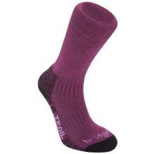 Bridgedale ponožky WoolFusion Trail Women's 370 berry