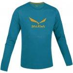 Salewa SolidLogo Co M L/S Tee Reef