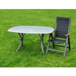 zahradní židle, křeslo ASS CONFORT, černá