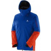 Salomon Qst Guard Jkt blue yonder 382351 pánská nepromokavá zimní lyžařská  bunda a149e7a3f5d