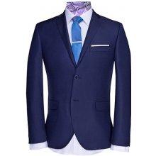 Good Son hladký oblek V10317 modrá