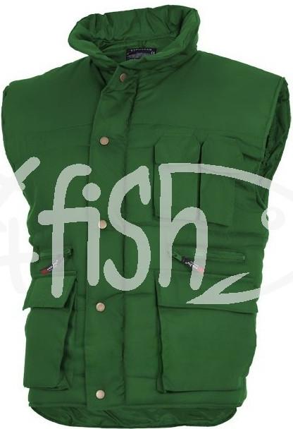 fe290c308ff3 Rybárska bunda a vesta Vesta KORMORAN na ryby zelená bottle ...