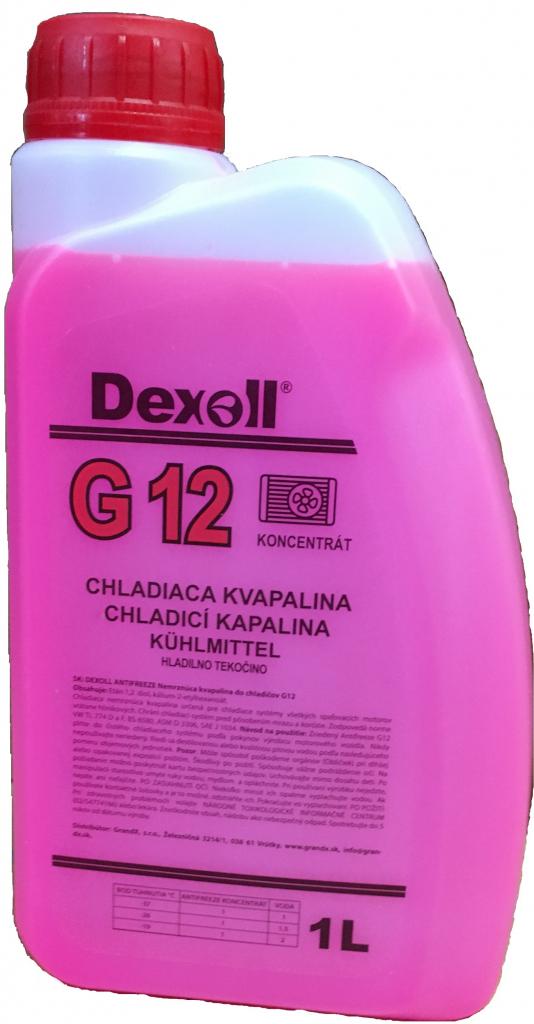 Dexoll Antifreeze G12 1 l - 0