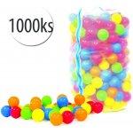 Plastové loptičky do bazéna 1000ks