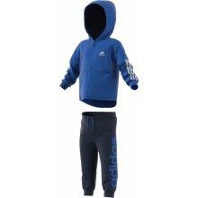 Adidas Chlapčenská tepláková súprava Jogg modrá