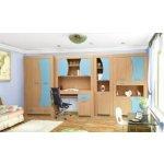 Detská izba Ondra - buk - modrý