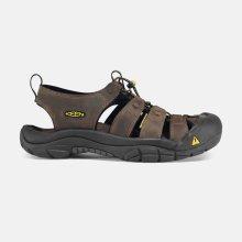 Keen Newport M Man Neutral Gray / Gargoyle pánské sandály kožené