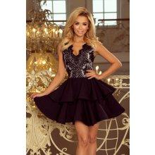 42e2acd36d36 Dámske šaty 200-3 - 263 -1 - čierna - 0