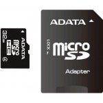 ADATA microSDHC 32GB class 4 + adapter AUSDH32GCL4-RA1