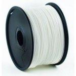PLA plastic filament pre 3D tlač, priemer 1,75mm, farba biel