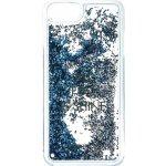 Púzdro Guess Liquid Glitter Hard iPhone 6/6S/7 Shine modré