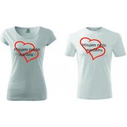 9fdfdc50191f dámske tričko s potlačou pánske tričko s potlačou valentínske tričko  darčekové predmety set