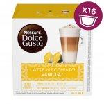 Nescafé Dolce Gusto Latte Macchiato Vanilla kávové kapsule 16 ks