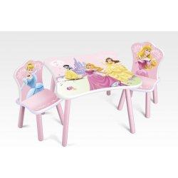 a26382cfe4b4 Disney Detský stôl so stoličkami Princess alternatívy - Heureka.sk