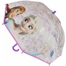 Disney Brand Detský dáždnik Frozen - svetlo ružový