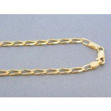 039050de2 MARM Design Zlatá retiazka žlté zlato oválne očká DR49715Z