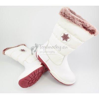 Protetika Snow Zimné detské snehule white