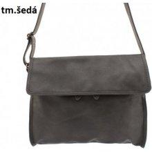 Diana&Co pánska taška kožená Tmavě šedá