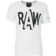 G-Star Raw Tričká s krátkym rukávom FULER biela