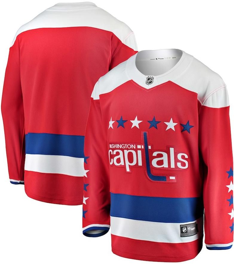 f568870eba04a Hokejový dres Fanatics Branded Dres Washington Capitals Breakaway ...