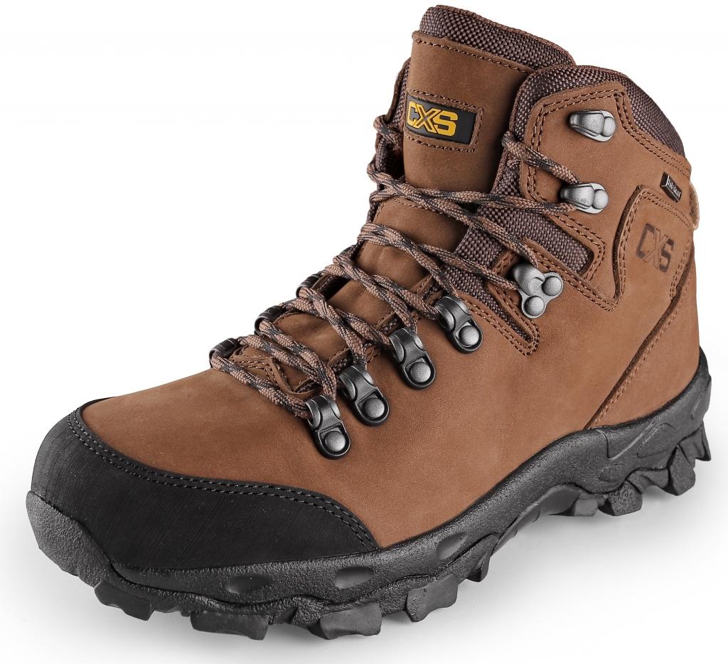 Trekingová členková obuv GOTEX s vodoodolnou membránou 7064fa8e457