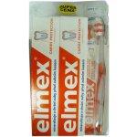 Elmex Caries Protection zubná pasta 2 x 75 ml+ústna voda 100 ml