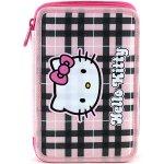 Hello Kitty peračník s náplňou ružovo-čierne štvorce