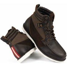 DVS Bishop Brown Leather Cordura