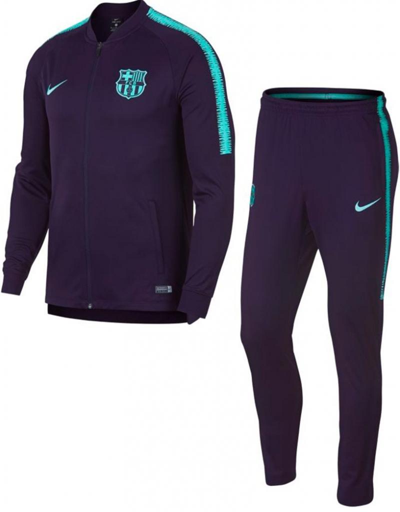 2dd9f2007afa1 Futbalový dres Nike FC Barcelona súprava bunda nohavice pánska 2018 ...