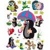 DC FIX Samolepiace maxi nálepky Krtko s dáždnikom