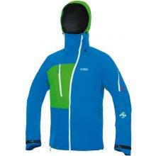 Direct Alpine Nepremokavá bunda Devil Alpine 5.0 blue green 989204a1932