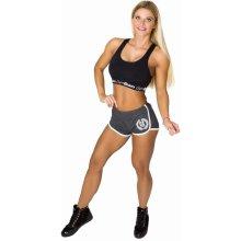 GymBeam Dámske fitness šortky Aesthetic Dark Grey