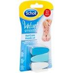 Scholl Velvet Smooth náhradné hlavice do elektrického pilníka na nechty 3 kusy