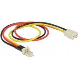 Delock power cable 3 pin male 3 pin female fan 30 cm od for Cables pc galeria jardin
