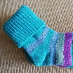 Merino detské ponožky prúžkované Zelená od 2 8720d864d4