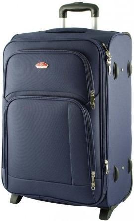 d2a26d3f2aa2a Cestovná batožina SUITCASE 91074 kufor Tmavě modrá 43x27x64 cm ...