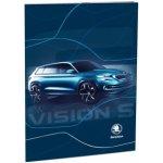 Stil Dosky na abecedu Škoda Vision