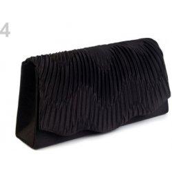a1505b13c4 kabelka lístoček saténová čierna 1ks alternatívy - Heureka.sk