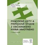 Pracovné listy a prípadové štúdie z občianskeho práva hmotného, 2.vydání - Monika Jurčová, Marianna Novotná