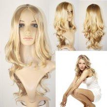 V & V fashion Dámska parochňa Suzan plavá blond 57 cm
