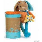 KALOO 963270 spievajúci plyšový zajačik Colors-Musical Baby Doudou Rabbit