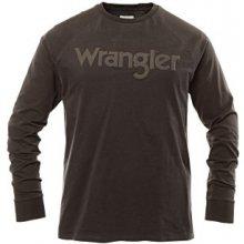 Wrangler Raglan Faded pánské černé černá ae5bcab244