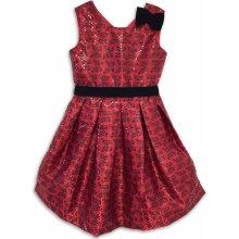Joe and Ella Fashion dievčenské šaty s motýlikmi Sarah červené