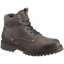 Wrangler Zateplená obuv vysoká Yuma Fur sivá dcafcf1577b