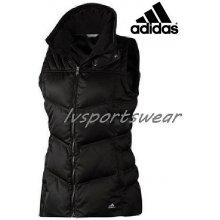 Adidas down Padded vest dámska vesta čierna