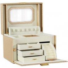 Stenberg luxusný kufrík na šperky ETUI zlatá