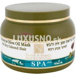 HB Deat sea kozmetika z mrtvého mora vlasová maska s olivovým olejom a medom  250 ml 0414cf90688