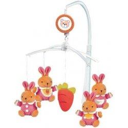 BABY MIX Kolotoč králiky
