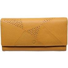 Segali Dámska kožená peňaženka 10025 žltá 18d14a070be