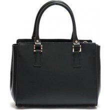 Mangotti Elegantná kožená kabelka 3040 Nero